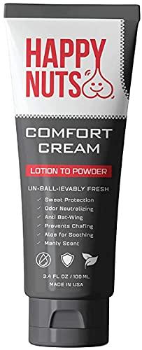Happy Nuts Comfort Cream Ball Deodorant For Men | Anti-Chafing, Sweat Defense & Odor Control