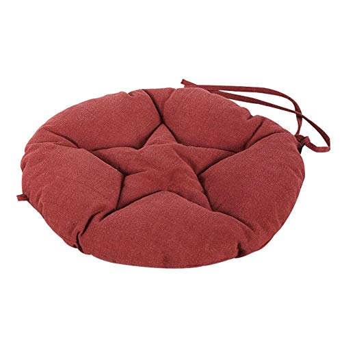 Floor Cushion, Round Tufted Seat Cushions Pillows,Tatami Ramie Chair Cushion Soft Light Seat Pad Meditation Floor Mat Yoga Bolster mat Dance Mat