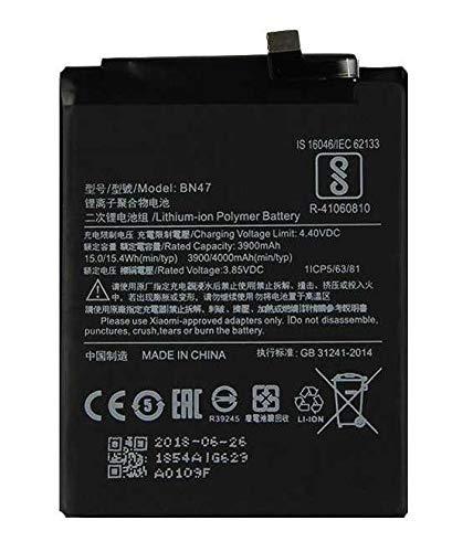 Todobarato24h Bateria Compatible con Xiaomi A2 Lite Redmi 6, Redmi 6 Pro 6X BN47 3900 mha