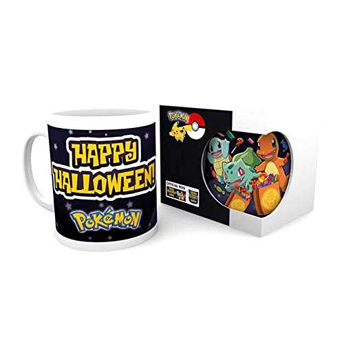 Pokemon - Happy Halloween Tasse/Becher - Shiggy, Bisasam, Glumanda