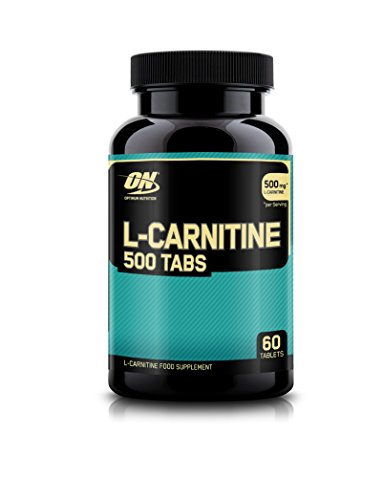 500mg L-Carnitine Supplement 60 Capsules