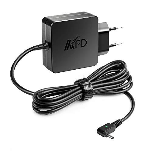 KFD 45W Stecker Netzteil Adapter Ladegerät für Asus Transformer Book T200TA T300CHI Switch 5 SW512-52 Swift 1 SF114-32 SF113-31, Zenbook UX21E UX31E, Acer Switch 3 SW312-31 Spin 3 SP314-51 19V 2,37A