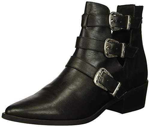 Madden Girl Women's CECILYY Fashion Boot, Black Paris, 6 M US