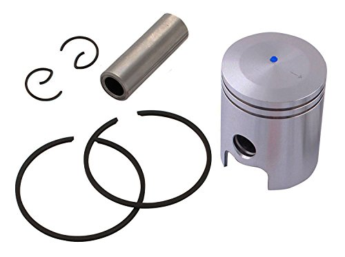 PODOY 80cc Motorized Bike Kit 47mm Piston with Pin Ring For 80cc Engine Motor Bicycle