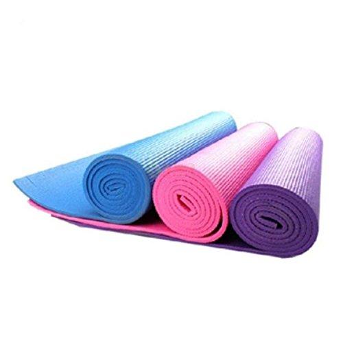 ASDCASC GDS i Principianti estese 6–8mm di Spessore Tappetino Antiscivolo Yoga Tappetino da Yoga Fitness Mat