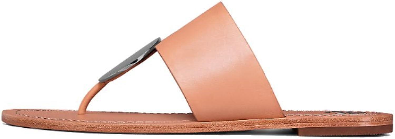 Tory Burch Patos Disk Natural Vachetta Sandal
