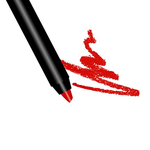 Premium Long Lasting Matte Red Lip Liner Pencil |'Red Carpet Ready' Red Ultra Wear Lip Liner | By The Clique