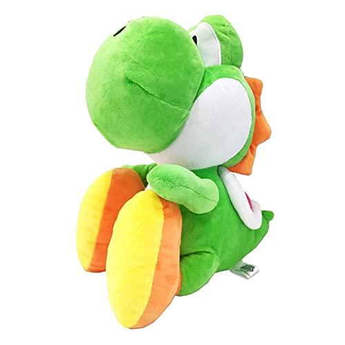 Green Yoshi Soft Toys, Juguete De Peluche De Algodón Suave De Primera Calidad, Juguete De Peluche Suave Yoshi, Hermoso Regalo para Niñas Y Bebés (30 Cm)