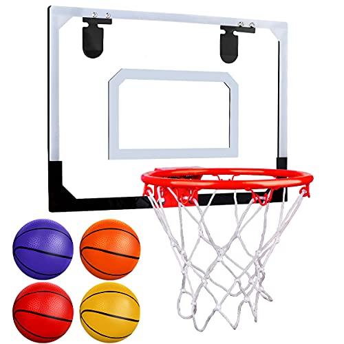 KidsBasketballHoop and Backboard Set,Wall Mounted with NetBall UK Stock