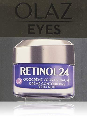 Olaz Retinol24 Augencreme für die Nacht mit Retinol und Vitamin B3, 80 g