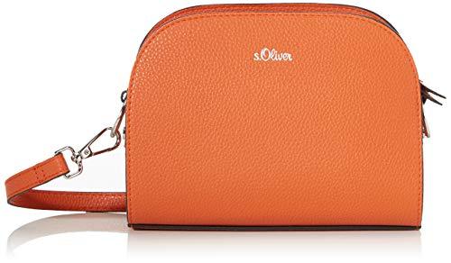 s.Oliver (Bags Damen 2040357 Umhängetasche, Orange (Orange), 6x16x20.5 cm