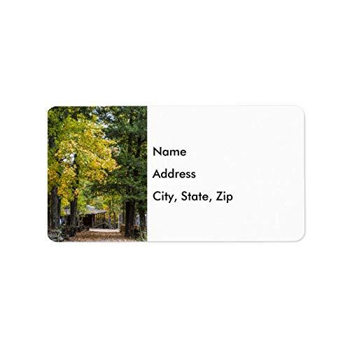 Etykiety adresowe spersonalizowany zestaw 120 samoprzylepnych ścieżek do kaysingera ogólne sklepy personalizowane poczta wysyłka etykieta ślubne na jesień projekt