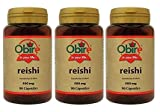 Obire   Reishi 400 mg   90 Cápsulas (Pack 3 unid.)