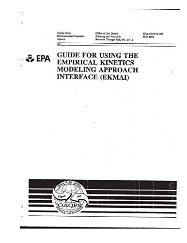 Guide for Using the Empirical Kinetics Modeling Approach Interface (EKMAI)