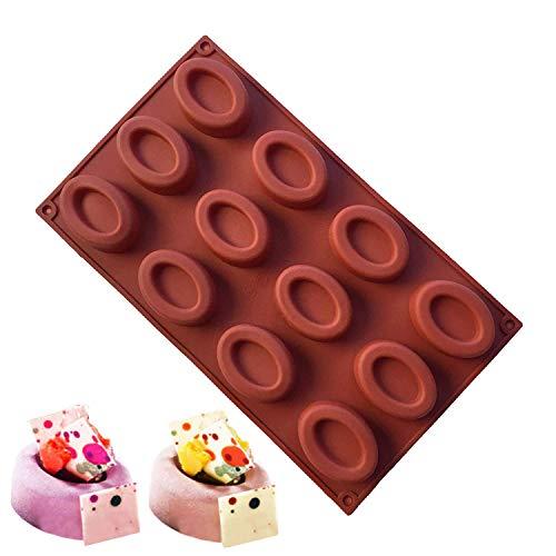 JasCherry Stampo in Silicone per Cubetti di Ghiaccio, Biscotti, Tortini, Cioccolato, Dolci #5