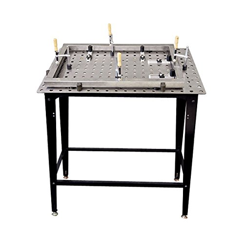 Strong Hand Tools FixturePoint Table and Tools Kit - 28-Pc. Startup Kit, Square Stock, Model Number TBHK100