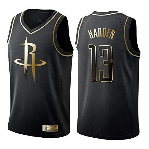 NBA Rockets 13# Harden Trikots Basketball Jersey Basketball-Anzug Basketballtrikot für Herren Männer Fans Unisex Basketballtraining Sportbekleidung