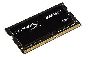 HyperX Kingston 16GB 2666MHz DDR4 Non-ECC CL15 SODIMM Impact (HX426S15IB2/16), Black (B01N7K4DV4)   Amazon price tracker / tracking, Amazon price history charts, Amazon price watches, Amazon price drop alerts