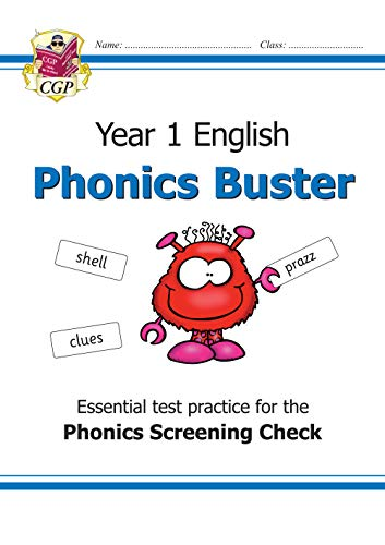 New KS1 English Phonics Buster - for the Phonics Screening Check in Year 1 (CGP Primary Phonics)