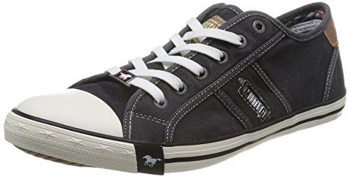 Mustang Herren 4058-305-9 Sneakers, Schwarz (schwarz 9), 42 EU