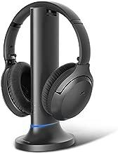 Avantree Opera Wireless Headphones for TV Watching w/Bluetooth 5.0 Bypass Transmitter & Charging Dock, 164FT Long Range, High Volume Hearing Headset Ideal for Seniors, No Audio Delay, External Mic