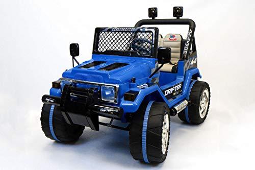 Mondial Toys Auto ELETTRICA 12V Drifter 2 POSTI...