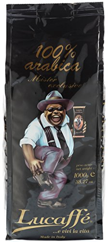 Lucaffè Mr. Exclusive 100% Arabica, Bohne, 1 kg