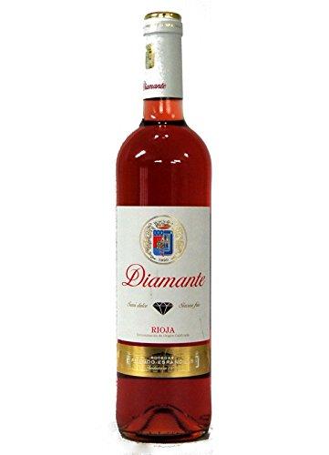 Diamante Rosado Vino Semidulce - Bodegas Franco Españolas - Rioja Botella 75 cl