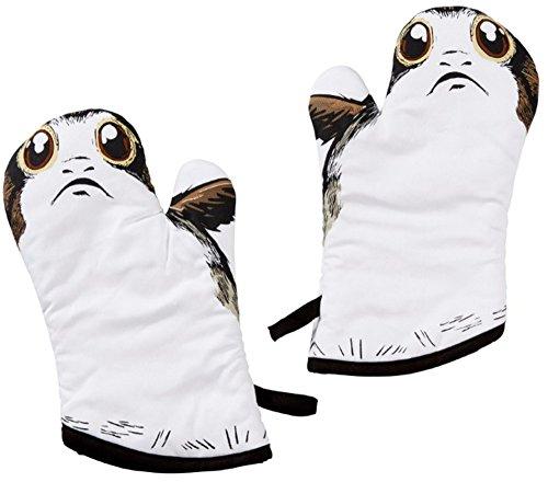 Funko SW05481 Star Wars: Die letzten Jedi: Ofenhandschuhe: Stoff: Vögel der Bäreninsel (Doppelpack) Stoff, Weiß, 18 x 6 x 30.5 cm, 2 Einheiten