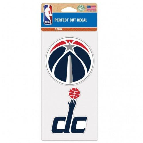NBA Washington Wizards Perfect Cut Decal (Set of 2), 4