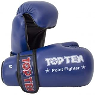 Top Ten Blue Semi Contact Point Sparring Gloves