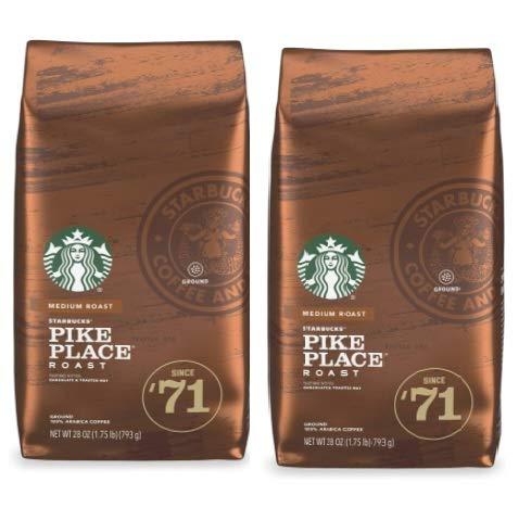 パイクプレイスロースト 793g ミディアム レギュラー 粉 2袋セット コストコ スターバックスコーヒー