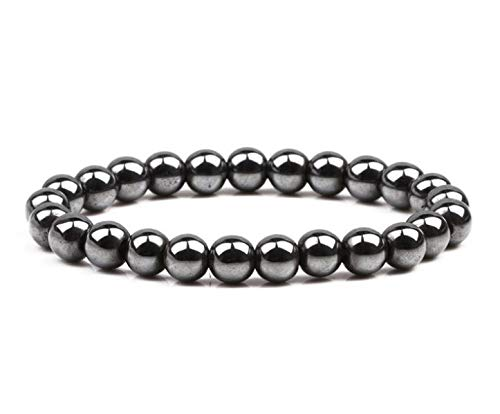 Magnetic Healing Bracelet Hematite Bead Bangle Arthritis Pain Relief Weight Loss Women Men