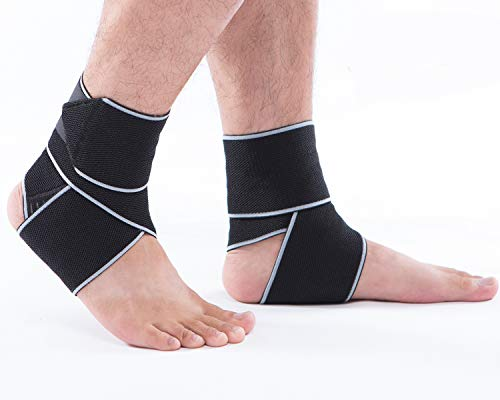 Ankle Brace Breathable Ankle Support Adjustable Ankle Stabilizer with...