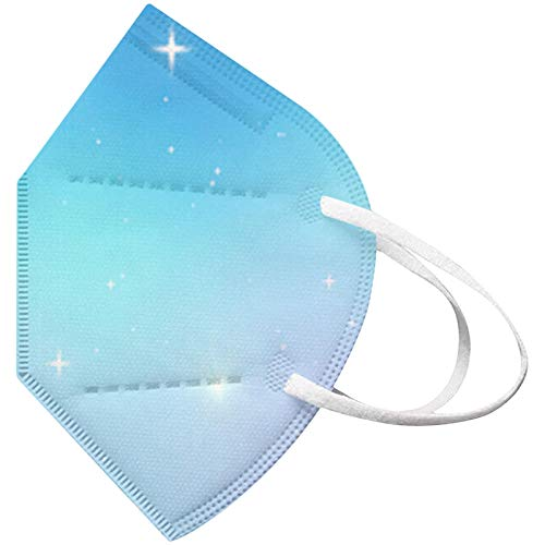 Koippimel Face_Mask for Adults Women,Disposable Face_Masks, 5-Layers Non-Woven, 10PCS, 0217_20