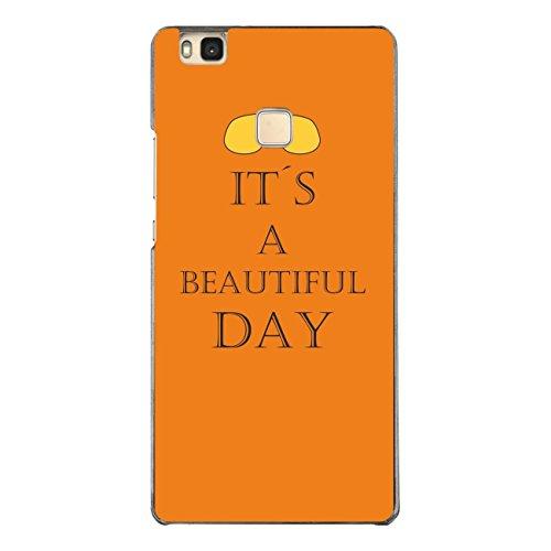 DISAGU Design Case Custodia Protettiva per Huawei P9Lite Custodia Cover–Motivo It' s A Beautiful Day
