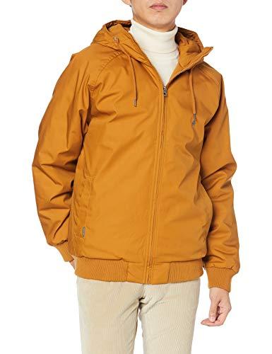 Volcom Men's Hernan Teflon 5k Heavy Weight Hooded Jacket, Golden Brown, XX-LARGE