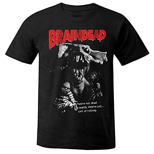 Película de terror Braindead Resident Evil Walking Dead camisa camiseta shirt M