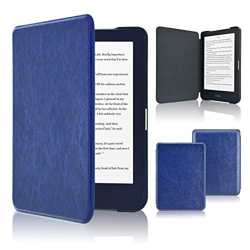 ACcolor, Schutzhülle für Kobo Clara HD, schlanke Lederhülle für Kobo Clara HD mit automatischer Wach-/Schlaf-Funktion