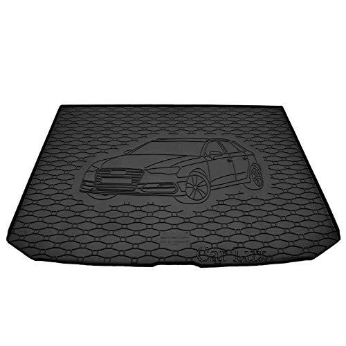 Car Lux AR06088 - Tappetino protettivo in gomma per bagagliaio per Audi A3 Sportback 8V dal 2012-