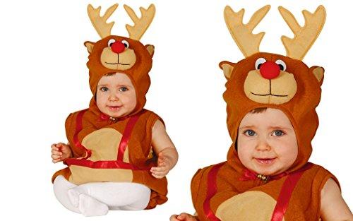 GUIRMA Costume da Renna Bambino Neonato bebè