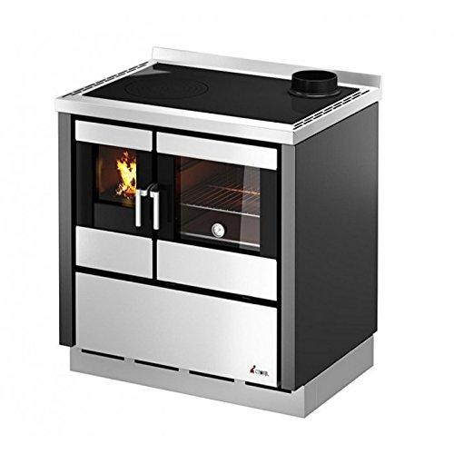 Cucina a legna 6 KWKOOK60 Cadel Inox