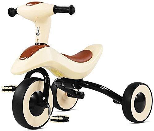 BANANAJOY Plegable de tres ruedas de bicicletas for niños for niños Los niños de bicicletas bicicletas Adecuado for su pedal de niños de tres ruedas del cochecito de niño del bebé que bicicletas (Colo