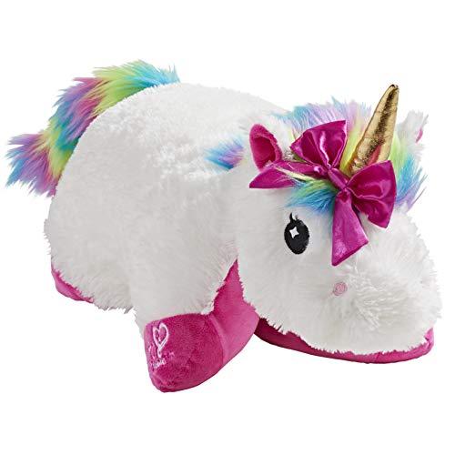 Pillow Pets JoJo Siwa Rainbow Unicorn Stuffed Animal Plush
