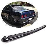 MCARCAR KIT Trunk Spoiler fits Nissan R32 Skyline Nismo BNR32 GTR 1989-1994 Carbon Fiber CF Rear Boot Lid Highkick Spoiler Wing Lip