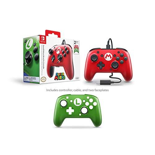 PDP - Mando Pro Deluxe Faceoff Mario, Luigi Edition (Nintendo Switch)