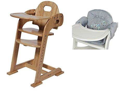 Kinder Treppenhochstuhl Tiamo Hochstuhl mit Sitzverkleinerer Eule