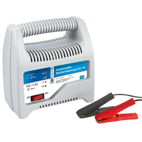 Cartrend 7740007A Batterieladegerät 7 Ampere, Automatik