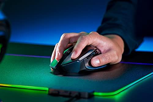 Razer Basilisk X HyperSpeed Wireless Gaming Maus (mit Razer HyperSpeed Technologie, Kabellos, 5G Advanced Optical Sensor und 6 Freikonfigurierbaren Tasten) Schwarz - 4