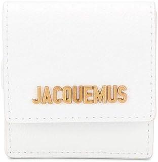JACQUEMUS Luxury Fashion Donna 194BA0119482100 Bianco Pelle Portafoglio | Ss21